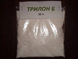 Трилон-Б-модификатор для восстановления емкости пластин